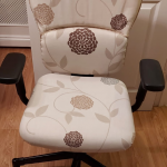 Upcycled office chair